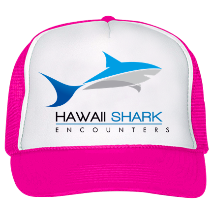 7d36982a8a0 hawaii shark pink - Custom Screen Printed Trucker Hat 39-169 8427F1B6198C