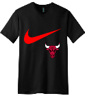 NBA NIKE - Custom Embroidered V-Neck Tee B10A77470F80