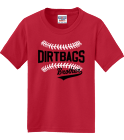 DIRTBAGS BROTHER COHEN 22 - Custom Heat Pressed Jerzees Youth T-Shirt 29B EE85619A99E0