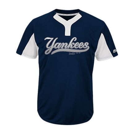 newest 58924 c848e Jones-Jones-2 - Custom Screen Printed Youth Yankees Two-Button Jersey -  Yankees-MAIY83 Youth Small