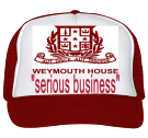 weymouth house  - Custom Embroidered Trucker Hat 39-169 702E4D976B12