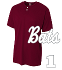Bats 2 - Custom Screen Printed Youth Baseball Jersey - NB4130 799394B44470