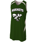 hornets - Custom Heat Pressed Youth Double Double Reversible Jersey - NB2372 23EC09A2EF9C