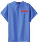 new - Custom Heat Pressed Dickies Medical Scrubs - 83706 181581A00A4F