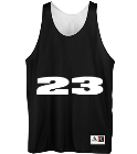 Table 23-Table 23-23 - Custom Heat Pressed Reversible Basketball Jersey 197 FC34484C3587