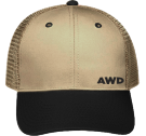 AWD Design 1 - Custom Heat Pressed Low Pro Trucker Style Otto Cap 83-474 C8C4255D154C