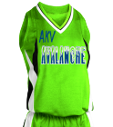 adult Its a nabor thingDonk00 Women's 2-Color Reversible Basketball Jersey