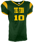 THE FIRM-10 - Custom Heat Pressed Youth Grinder Steelmesh Football Jersey -Teamwork Athletic-1380 002F72D12FE0