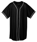【=◈︿◈=】 - Custom Heat Pressed Adult Full Button Wicking Mesh Jersey  - 593 B760A6C3D8BC