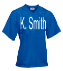 K-SmithBLMSBLMS13 DISCONTINUED Youth Overtime Football Jersey - 1362