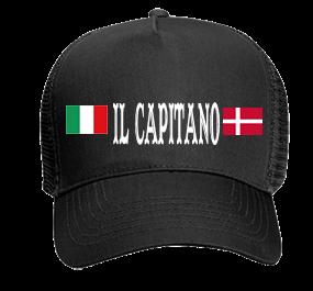 a8006e401b0 Il Capitano - Custom Heat Pressed Otto Trucker Hat 32-565 0E2C8E3A755A