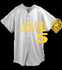 ALKQN- DISCONTINUED Mesh Baseball Jersey - Augusta - 437