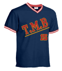 new - Custom Heat Pressed Teamwork Athletic  Youth V-Neck Baseball Jersey - 1269 - Teamwork Athletic C2E81D09263C