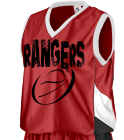 Rangers Its a nabor thingDonk00 Women's 2-Color Reversible Basketball Jersey
