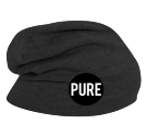 PURE Beanie - Custom Heat Pressed Hipster Slouch  Beanie   - 146_1069 0E7C115EE781