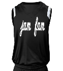 Jam Fam - Custom Heat Pressed Adult V-Neck Custom Basketball Jerseys - N2340 68A4007039EC