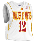 Walter .F. White PS 41 Home - Custom Embroidered Youth Basketball Jersey - Buzzer Beater Series - Teamwork Athletic - 1489 7E5029596895
