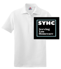 SYHC - Custom Embroidered Ladies Pique Hanes Polo 6432FB449FSL