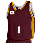 Sample - Custom Heat Pressed Youth Basketball Jersey - Jammer Series - Teamwork Athletic - 1483 DB488482FC9D