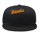 rivals - Custom Heat Pressed Snap Back Flat Bill Hat - 125-1038 8FEEB2AF306B