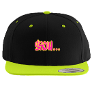 Show Me Your Butthole - Custom Heat Pressed Classic Wool Snapback  - 6089MT D07A61696879