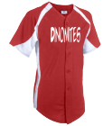 Dinomites-Carter-42 - Custom Heat Pressed Youth Clutch Full Button Jersey - 1201B 5892B4BC812D
