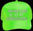 ORCHARD-GLENCOPCITIZENS-ON-PATROL Neon Pro Style Hat Otto Cap