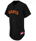 The Kid - Custom Heat Pressed Giants Full Button Baseball Jersey - Adult F303C59E7E3A