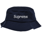 Supreme - Custom Embroidered Bucket Hat - 2050 CFF55844F65B