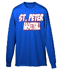 SPL basketball  - Custom Screen Printed Youth Crewneck Longsleeve  - 789 32C15277AB86