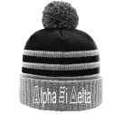 A X D - Custom Heat Pressed Custom Knit Pom Beanie - 134 D891B4D6ABBD