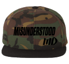 md - Custom Heat Pressed Classic Wool Snapback  - 6089MT 760502464741