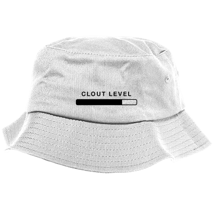 CLOUT LEVEL - Custom Heat Pressed Bucket Hat - 2050 One Size Fits All  8E1CB46D9B6BA 740a90864