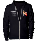Illenium Album Boxed Listed Hoodie - Custom Heat Pressed American Apparel Zip Hoodie F2257DCFE86F