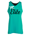 YC Elite-Elite-DAVIS-3 - Custom Screen Printed Women's Reversible Jersey -Teamwork Athletic-1442 1FA0B9AC687D