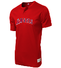 OSBORN - Custom Heat Pressed Angels Youth 2-Button MLB Jersey - MLB181 EC33AAE8F769