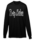 Trap Natez-Miami Beach - Custom Screen Printed Youth Crewneck Longsleeve  - 789 C804EBB1B05D