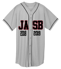 JASB SHIRT YOUTH - Custom Screen Printed Youth Full Button Wicking Mesh Jersey  - 594 755BBC2E0A69