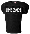 King zach-Everyone's fantasy-#33 - Custom Heat Pressed Mens Drills Practice Jersey E3A207F5AB1A