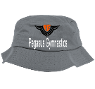Pegasus Gymnastics - Custom Screen Printed Bucket  Hat  - 5003 1C5C5E2A593B