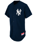 NOAH-11 - Custom Embroidered Yankees Full Button Baseball Jersey - Adult AB2344590CE4