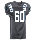 COWBOYS PR GRAY - Custom Heat Pressed Adult Football Uniforms Express Shipped - 1353 47B857490CAE