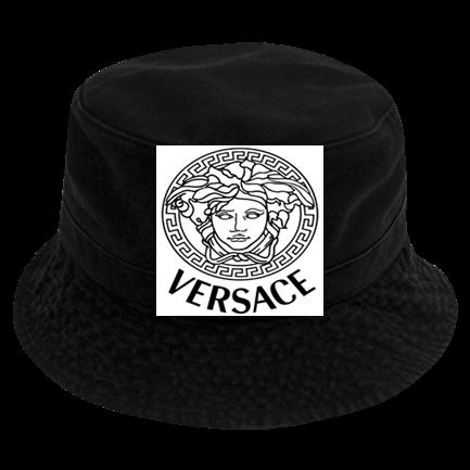 851659f0bffcf versace buckethat - Custom Heat Pressed Short Brim Custom Bucket Hats - 961  8258965FFC8D