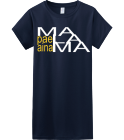 malama - Custom Heat Pressed Womens Junior Shirts & Tees Gildan® Ladies SoftStyle™ Cotton T-Shirt 3A3262130DDD