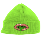 MVSFG.S - Custom Embroidered Neon Beanie - 813 199BF9DC358C
