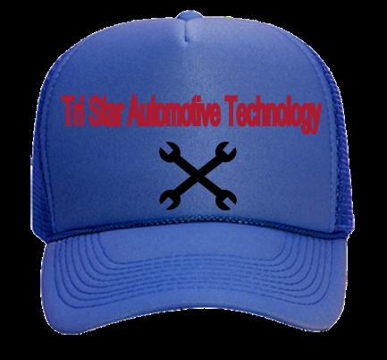 a98b75e91e7 Tri Star Automotive Technology-Tri Star Automotive Technology - Custom Heat  Pressed Mesh Trucker Hat 32-467 9BD4EA058EAD