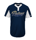 3 2018 Youth Padres Two-Button Jersey - Padres-MAIY83